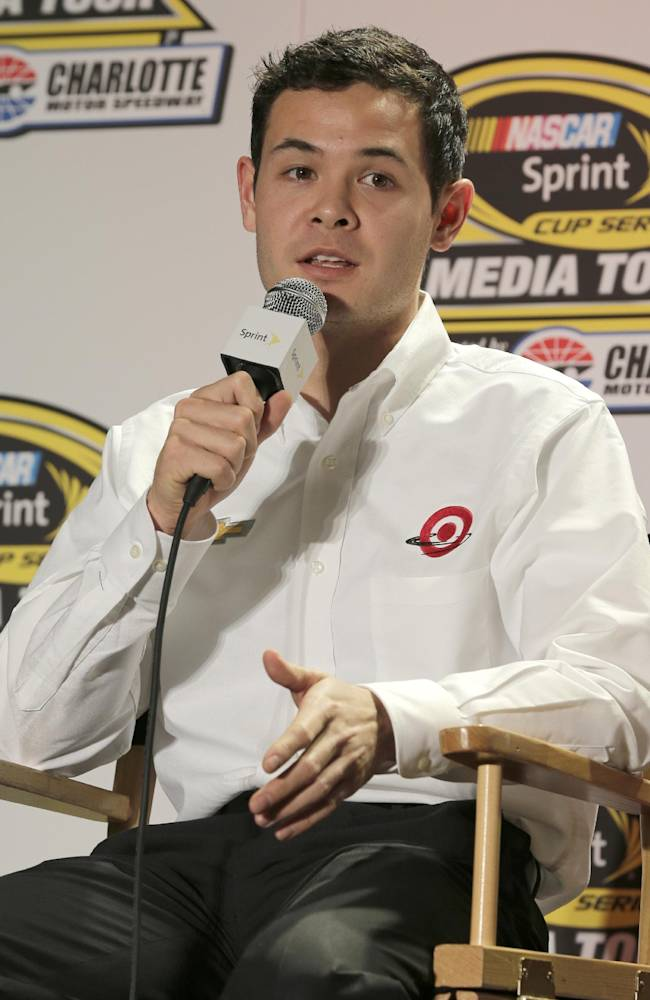 Larson not putting too much pressure on himself