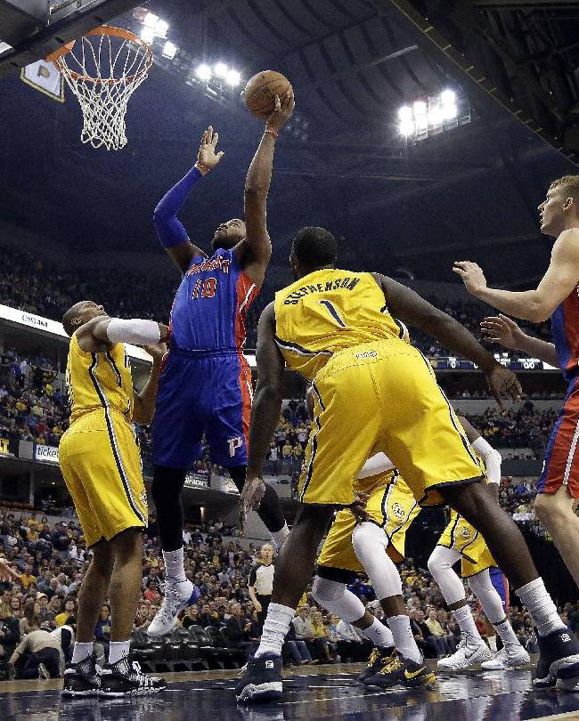 George, West lead Pacers past Pistons 101-94