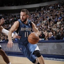 DALLAS, TX - NOVEMBER 30: Juan Barea #11 of the Minnesota Timberwolves drives against the Dallas Mavericks on November 30, 2013 at the American Airlines Center in Dallas, Texas. (Photo by Glenn James/NBAE via Getty Images)