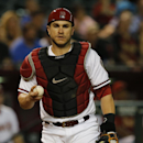 Arizona Diamondbacks catcher Miguel Montero (26) against the San Francisco Giants in the first inning during a baseball game, Monday, Sept. 15, 2014, in Phoenix The Associated Press