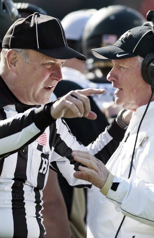 Jim Grobe resigning after 13 years at Wake Forest