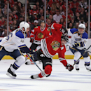 St. Louis Blues v Chicago Blackhawks - Game Four Getty Images