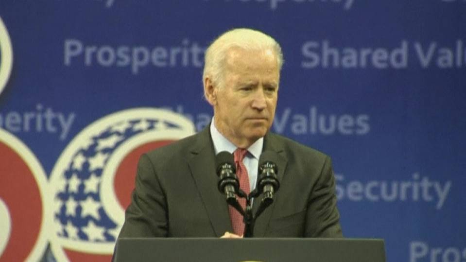 U.S. vice president says the world needs people like Mandela