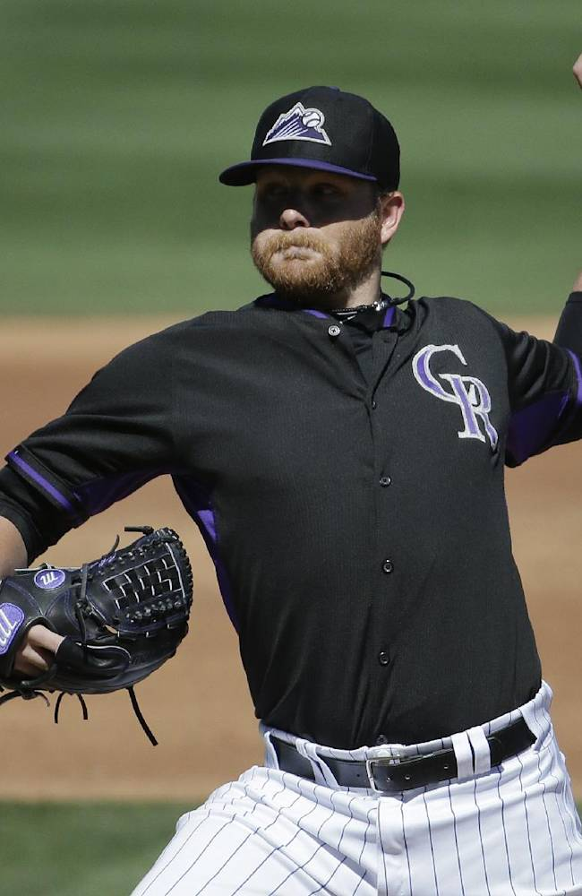 Anderson goes 3 innings, Rockies beat A's 5-4