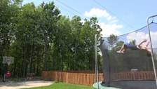 Video Claims to Be 'World's Best Trampoline Trick Shot'