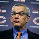 Chicago Bears' general manager Phil Emery talks about free agents, defensive end Lamarr Houston and safety Ryan Mundy, after they were signed during an NFL football news conference Wednesday, March 12, 2014, in Lake Forest, Ill The Associated Press
