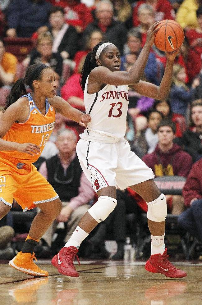 No. 6 Stanford women hold off No. 3 Tennessee