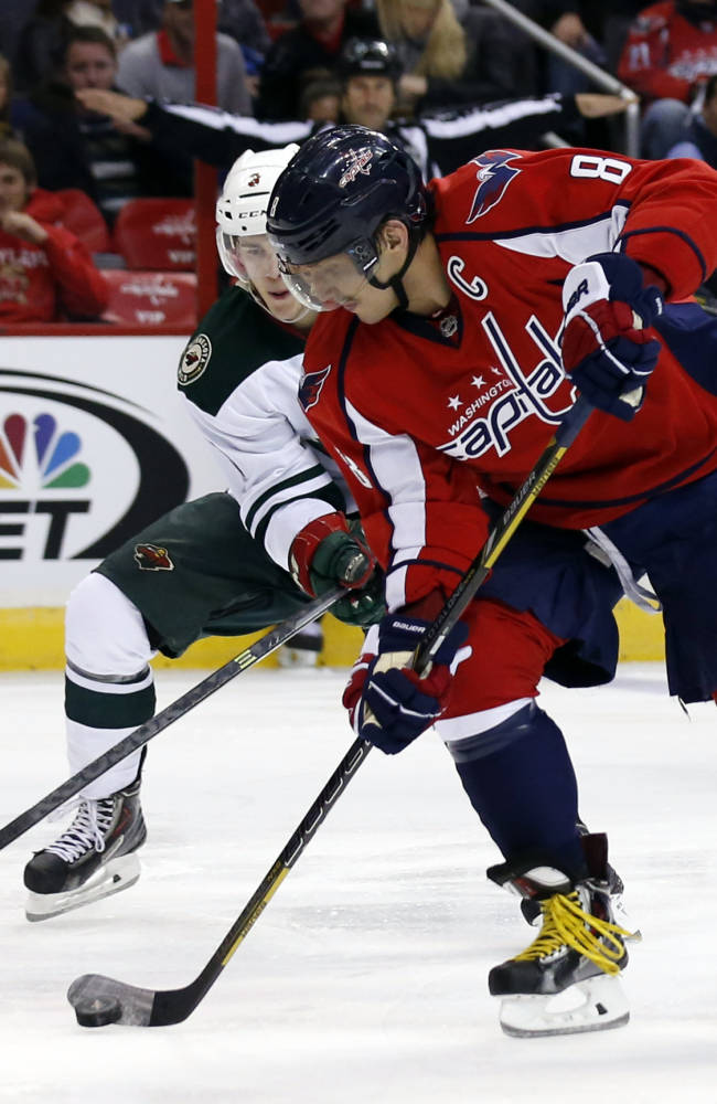 Capitals beat Wild 3-2 in shootout