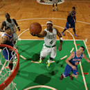 BOSTON, MA - APRIL 26: Jason Terry #4 of the Boston Celtics shoots against the New York Knicks in Game Three of the Eastern Conference Quarterfinals during the 2013 NBA Playoffs on April 26, 2013 at the TD Garden in Boston.  (Photo by Nathaniel S. Butler/NBAE via Getty Images)
