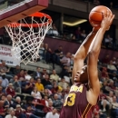 Minnesota forward Rodney Williams Jr., (33) dunks against Florida State in the first half of an NCAA college basketball game, Tuesday, Nov. 27, 2012, in Tallahassee, Fla. (AP Photo/Phil Sears)