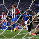 Soccer: Disputed Griezmann penalty gives Atletico edge over Leicester (Reuters)