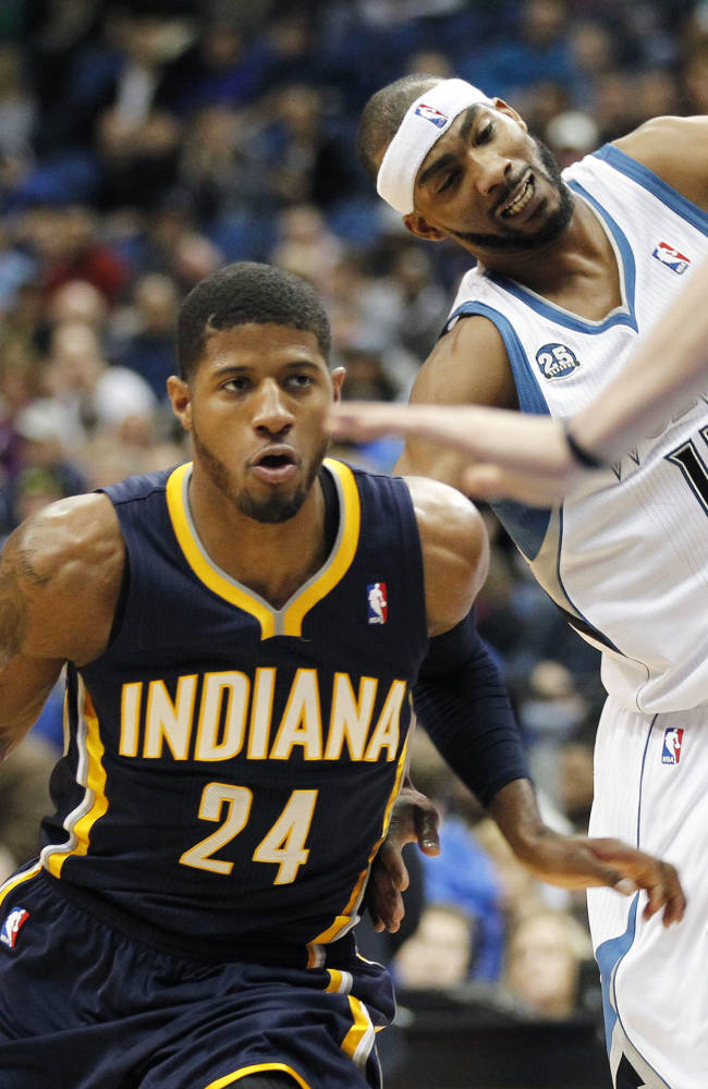 Love has 42 points, 16 boards, Wolves beat Pacers