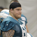 In this May 29, 2013 file photo, Miami Dolphins guard Richie Incognito watches during an NFL football practice in Davie, Fla. Police checking on reported damage to a car belonging to Incognito, the player at the center of the Dolphins' bullying scandal, s