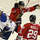 Blackhawks-Blues Preview The Associated Press