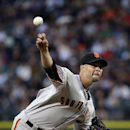 Vogelsong, 3 relievers throw 5-hitter, Giants beat Ms 7-0 The Associated Press