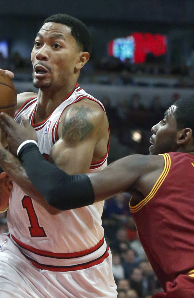 Bulls say Rose day to day with hamstring injury