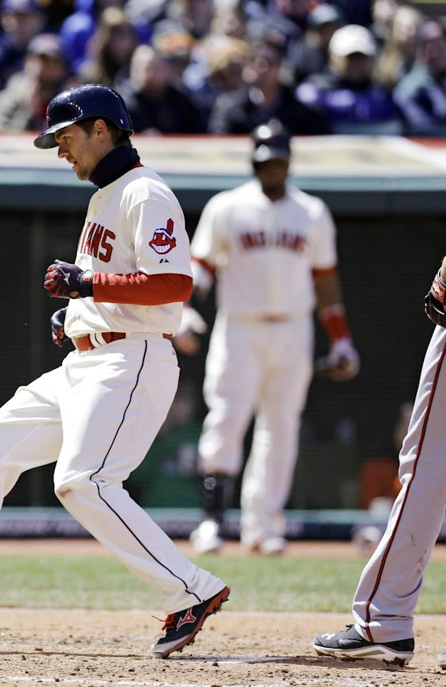 Indians place 3B Chisenhall on paternity list