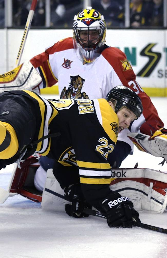 Rask has 23 saves in Bruins' 4-1 win over Panthers