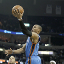 Westbrook propels Thunder past Grizzlies 116-100 The Associated Press