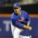 New York Mets' Daisuke Matsuzaka, of Japan, delivers a pitch during the seventh inning of a baseball game against the St. Louis Cardinals, Wednesday, April 23, 2014, in New York The Associated Press