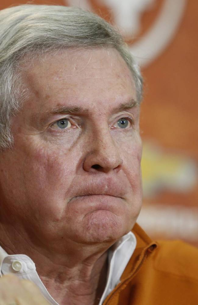 Texas looks to send Mack Brown off with a win
