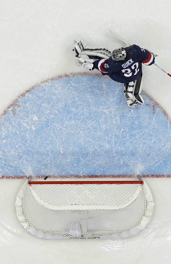Goalie Ryan Miller to get a shot to play for US