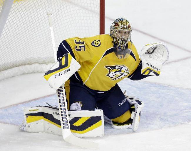 Predators say Rinne will return to action Tuesday