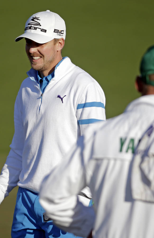 Stadlers on opposite ends of Masters' scoreboard