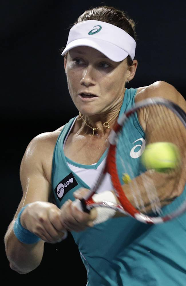 Stosur, Kuznertsova advance at Kremlin Cup