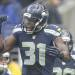Seattle Seahawks strong safety Kam Chancellor takes the field before an NFL football game against the St. Louis Rams, Sunday, Dec. 30, 2012, in Seattle