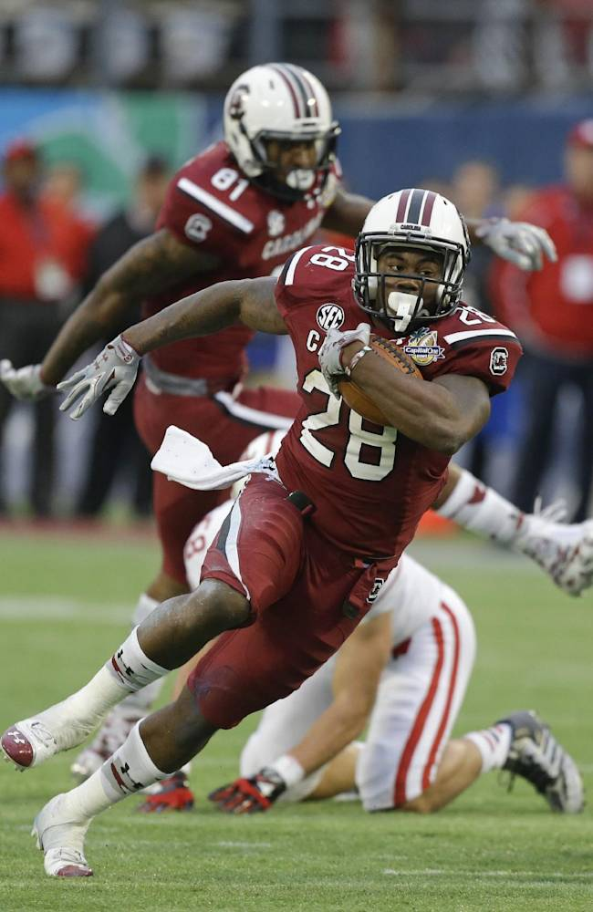 South Carolina's Spurrier ready for kickoff