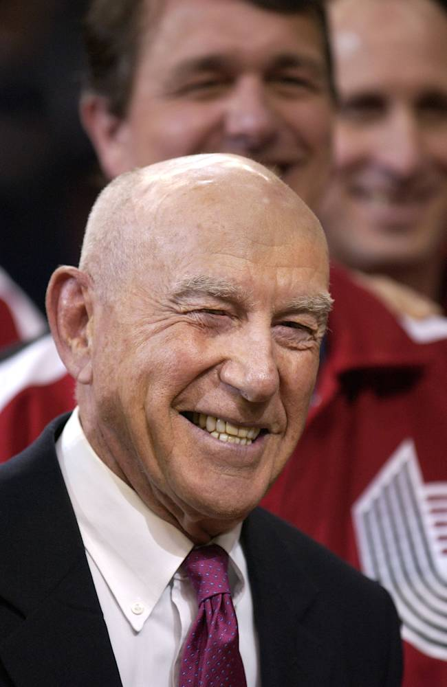 Trail Blazers honor former coach Jack Ramsay