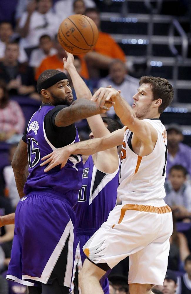 Cousins scores 19 points, Kings beat Suns 113-106