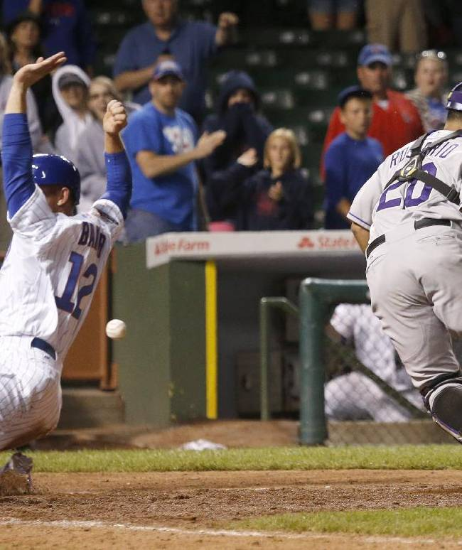 Cubs beat Rockies in 16 innings, 4-3