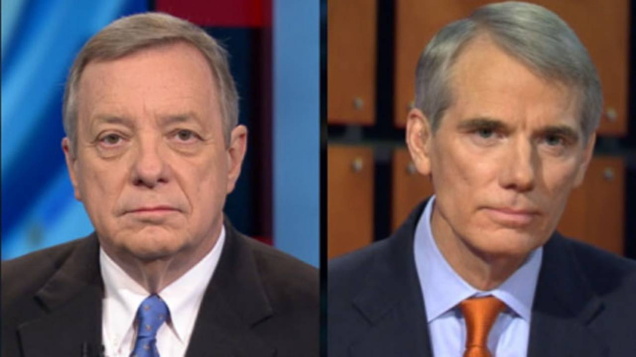 'This Week': Sen. Dick Durbin and Sen. Rob Portman