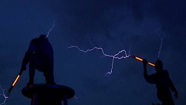 Epic Lightning Fight