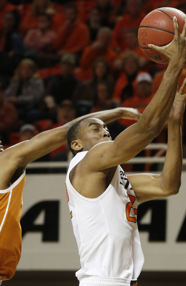 Brown, Smart lead No. 11 Oklahoma St over Texas