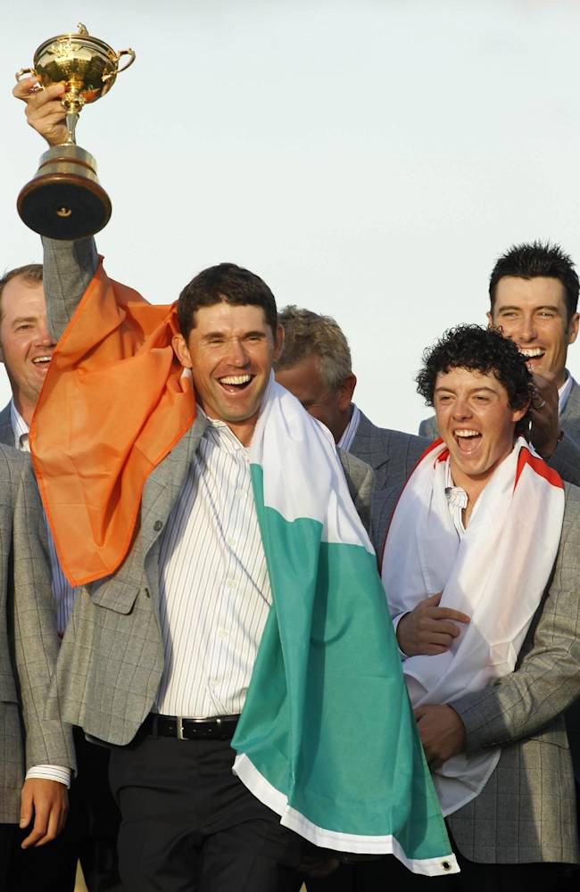 Europe to have 5 vice captains for Ryder Cup