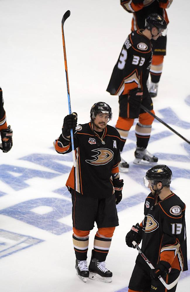 Ousted Ducks head into future without Selanne