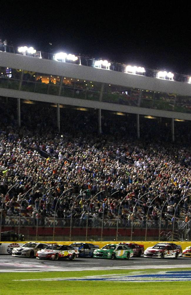 No big changes in 2014 Sprint Cup Series schedule