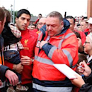 Suarez in attendance at Liverpool opener