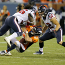 Welker evaluated for possible concussion The Associated Press