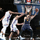 Kanter leads Jazz past Thunder 105-91 The Associated Press