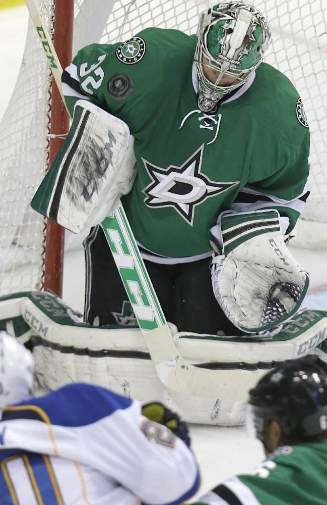 Ruff, Stars all smiles with playoffs coming soon