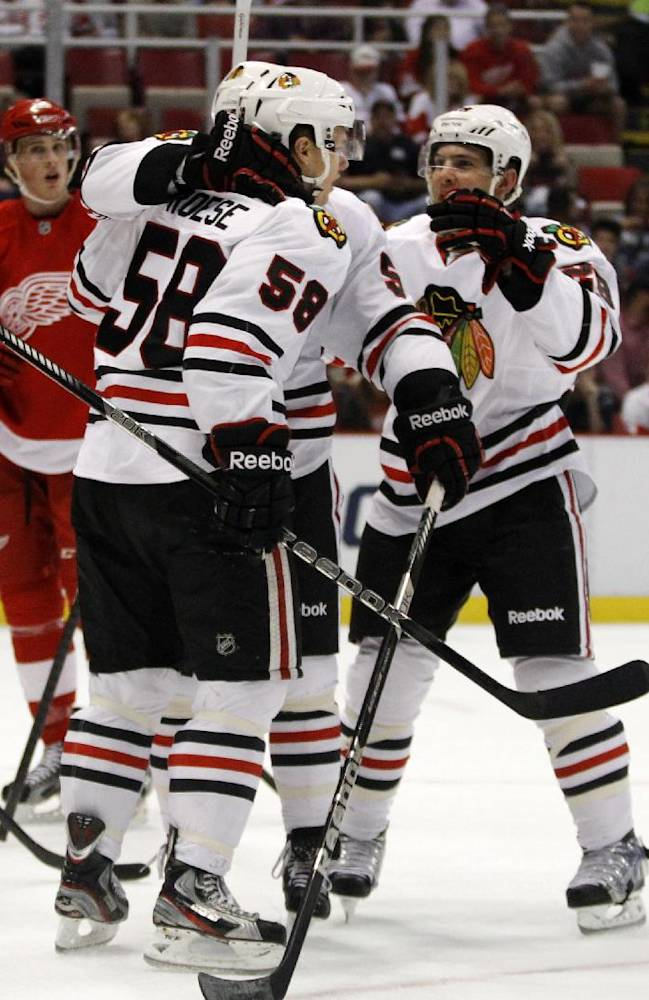 Deep Blackhawks hoping for 2nd straight title