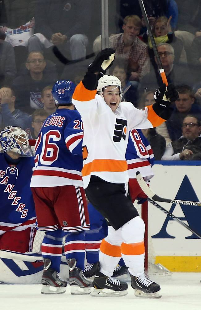 Philadelphia Flyers v New York Rangers - Game Five
