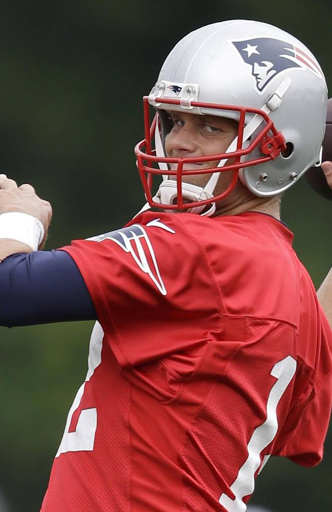 Brady looking to improve in 15th training camp
