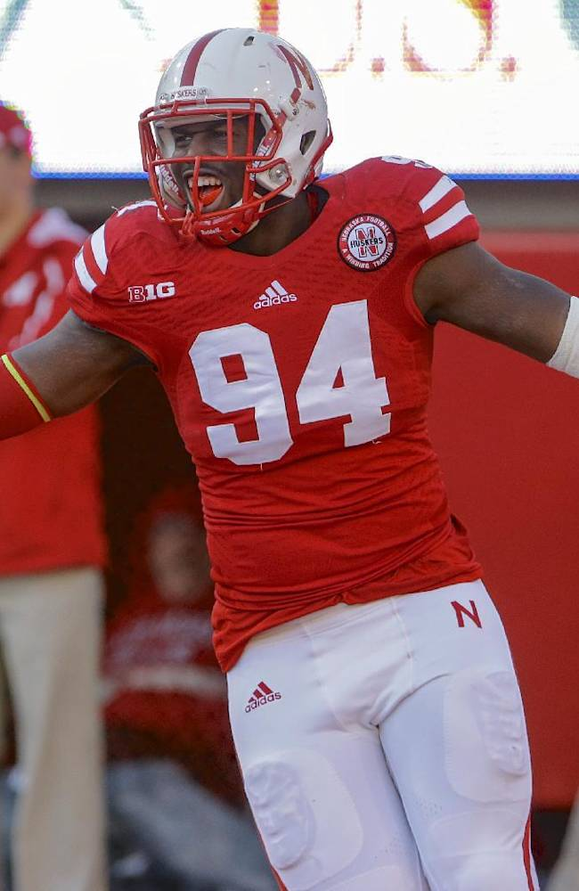 Huskers' Moss banned from campus, out for 2014