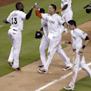 Stanton single in 10th sends Marlins over Rangers The Associated Press