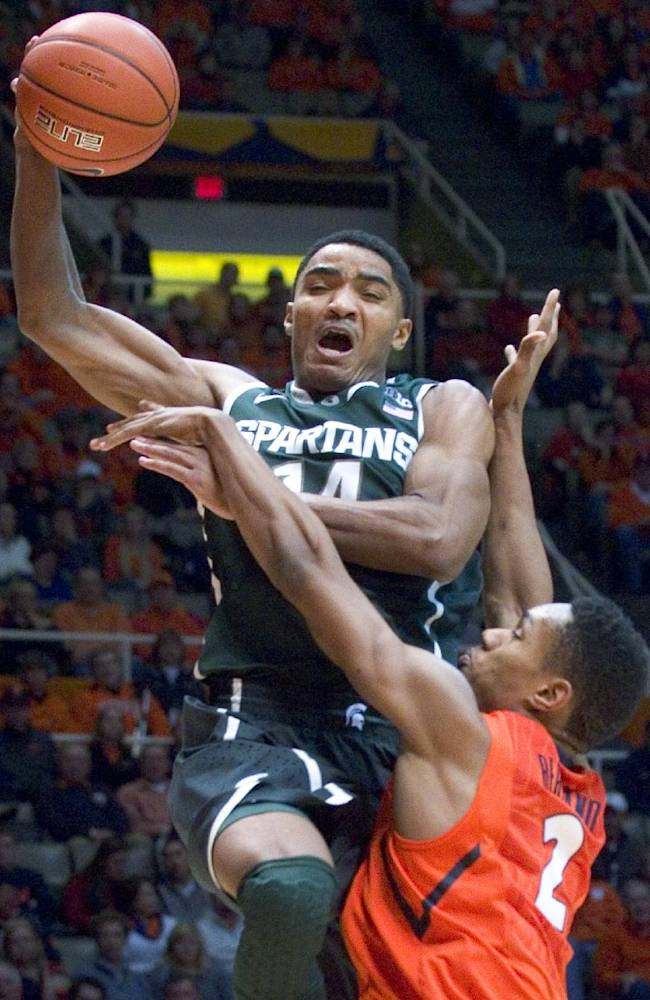 No. 3 Spartans don't expect Payne vs Indiana